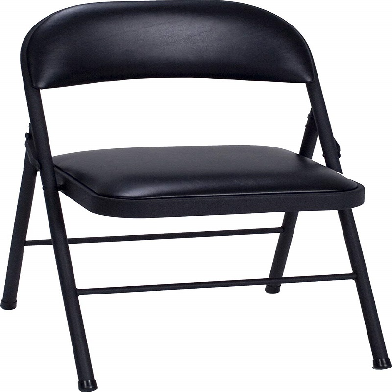 Astonishing Cosco Vinyl Folding Chair Black 4 Pack By Web Shop Machost Co Dining Chair Design Ideas Machostcouk